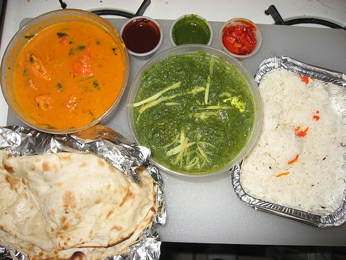 Indian take-out