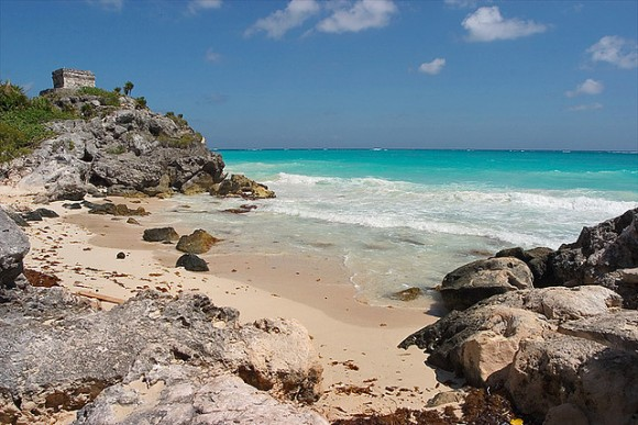 Tulum Beach by lightmatter, used under Creative Commons