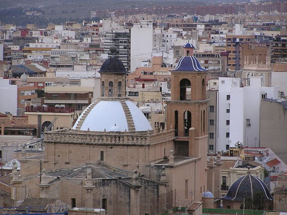 Concatedral de San Nicolas, Alicante - copyright Etnacila, Creative Commons License