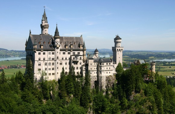 Neuschwanstein Castle by Softeis (Creative Commons)