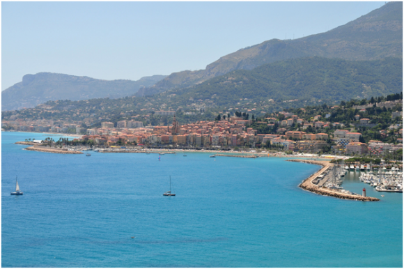 The French Riviera ( creative commons)