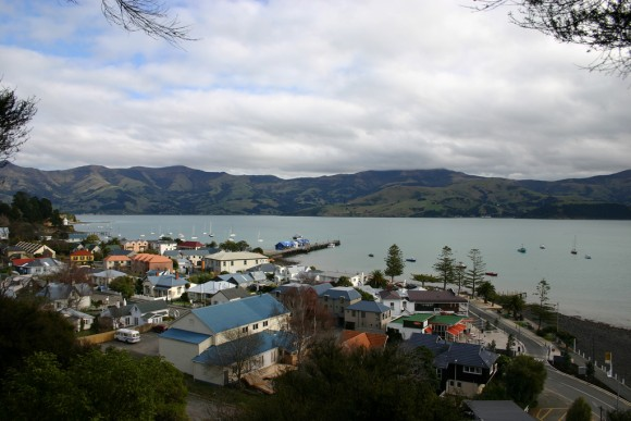 Akaroa near Christchurch Photo by jonnykeelty, Creative Commons
