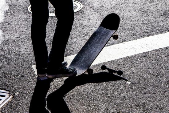 Skateboarding, creative commons