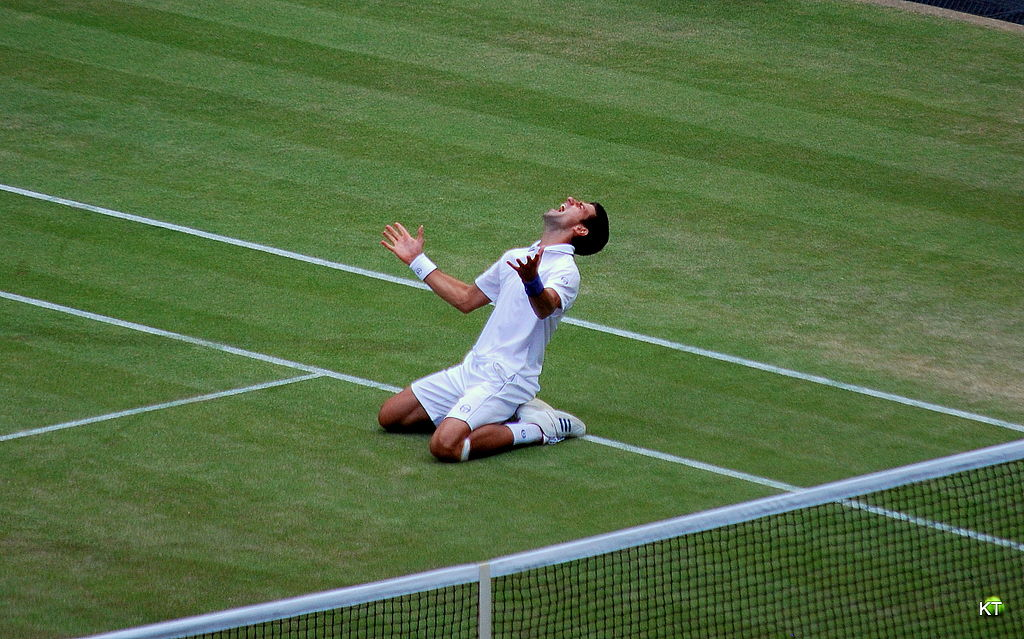 Like Djokovic, you too can feel like a champion ... photo by CC user Carine06 on flickr