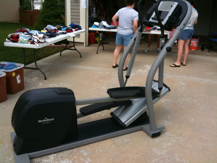 Both Nordictrack treadmills and ellipticals are popular options for home exercise equipment ... photo by CC user davidreber on Flickr