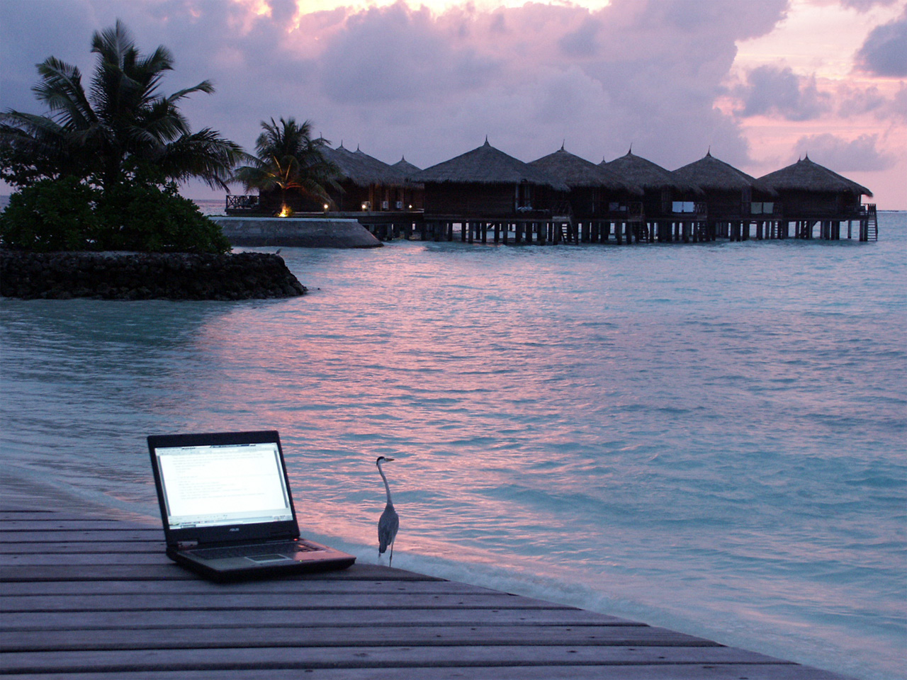 Want to become a digital nomad and work from here? ... photo by CC user novecentino on Flickr