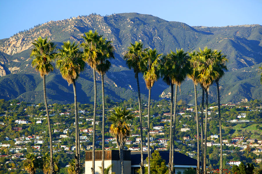 If you are having Adventures In California, be sure to include Santa Barbara in your plans ... photo by CC user http://pinker.wjh.harvard.edu