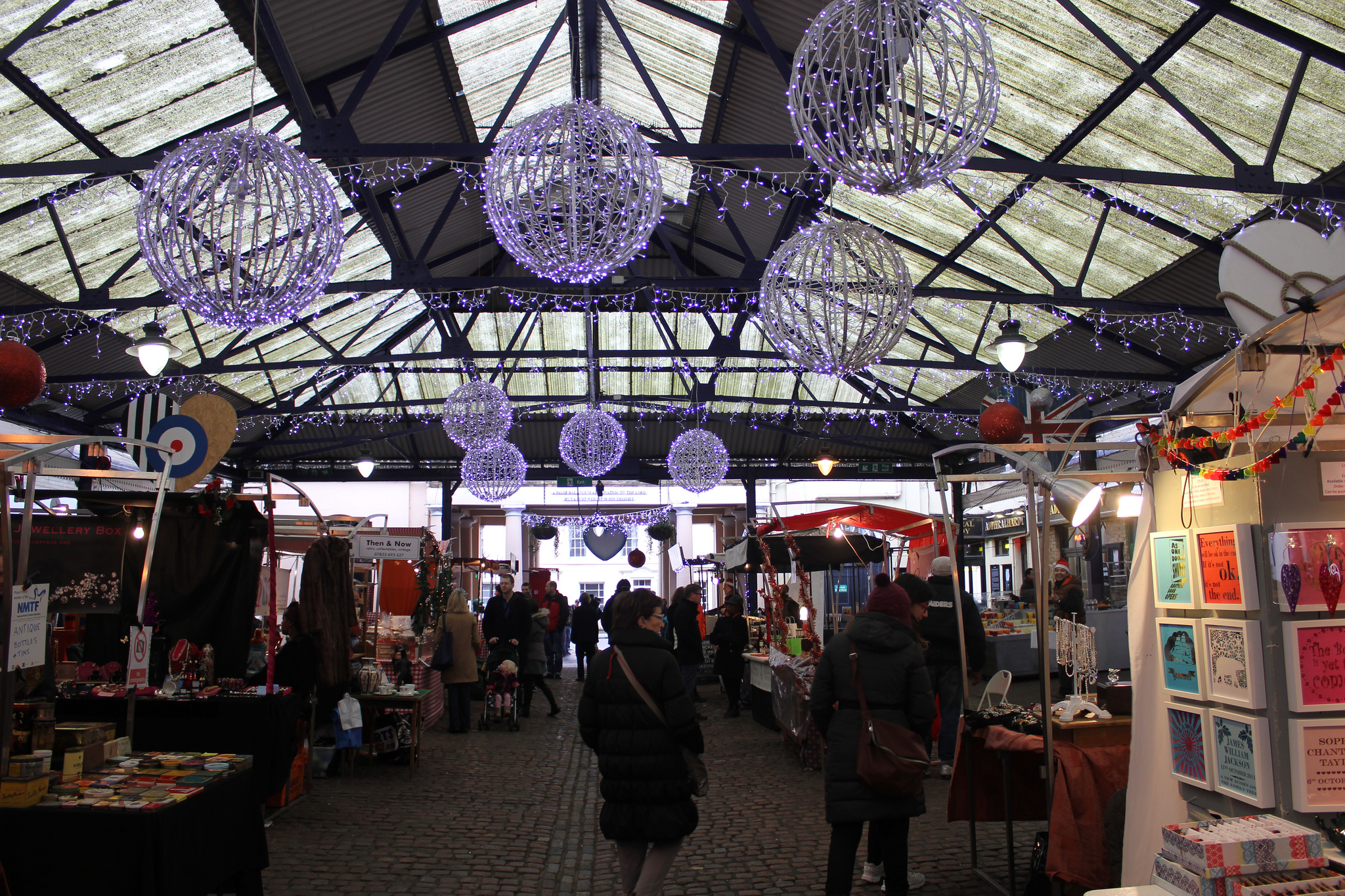 The Greenwich Market is one of the most Unique things to see in London
