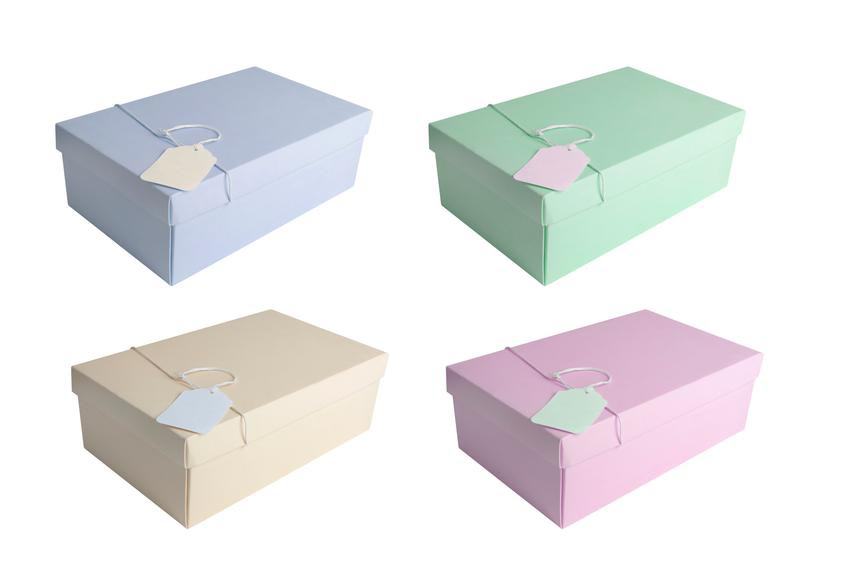 Reusing shoeboxes is just one of many tips for a neater home