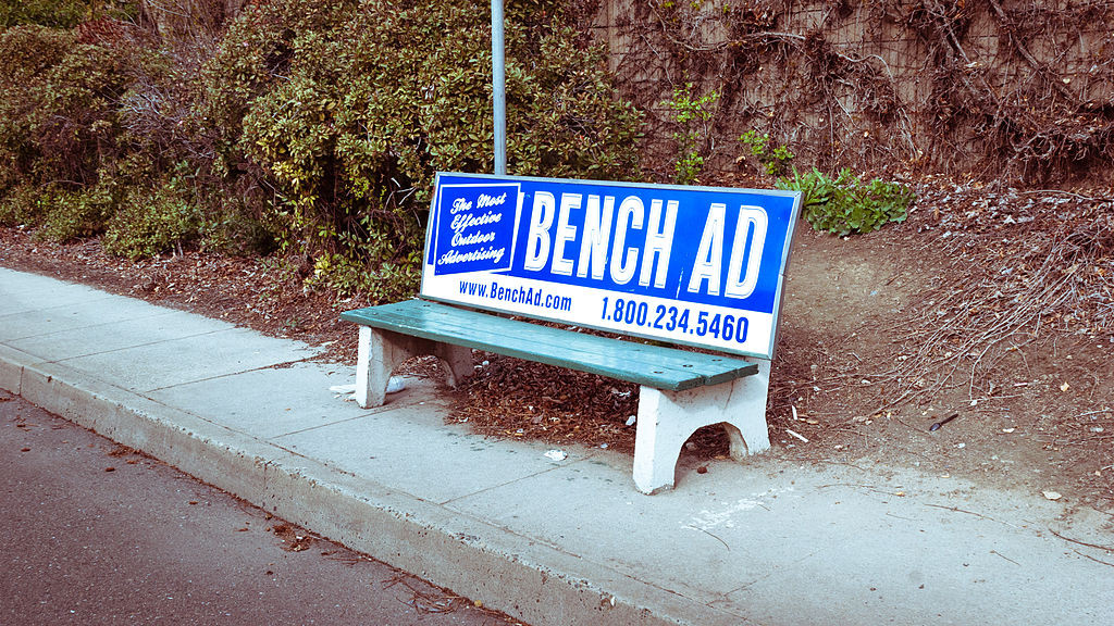 Want some Tips to Effectively Advertise Your Small Business? Start with bench ads