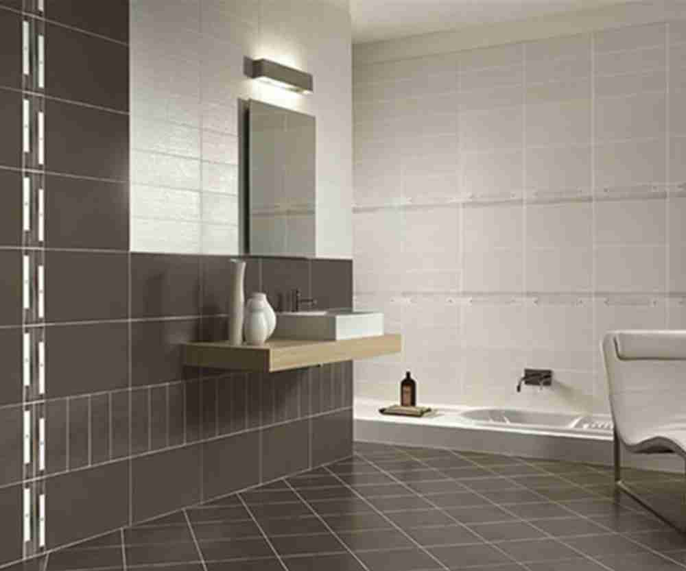 Five summer makeover ideas for your bathroom for Tiled bathroom designs pictures